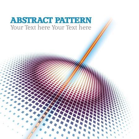 abstrakt halvton cirklar dots mönster bakgrund