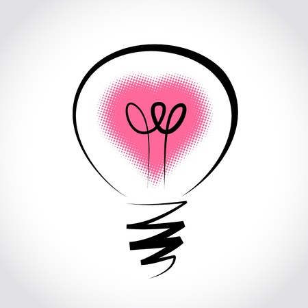 sprout: symbol of innovation and good ideas Illustration