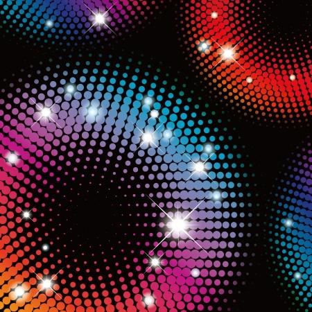 fiestas electronicas: Resumen de medios tonos de colores