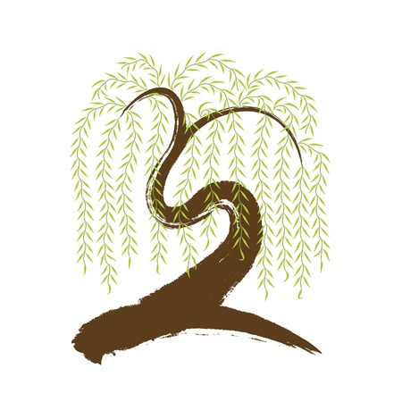 sauce: vector de la pincelada art�stica asi�tico sauce Vectores