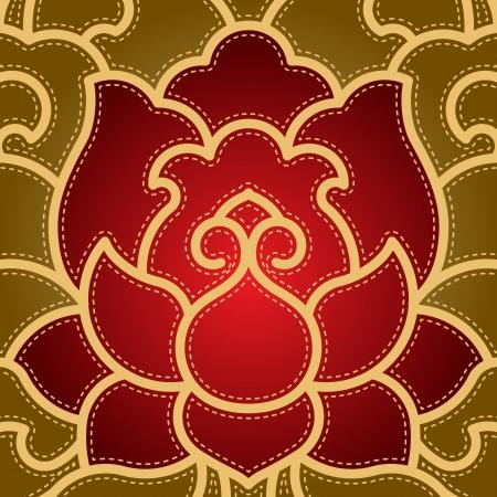 flor loto: Po-fase de flores de fondo