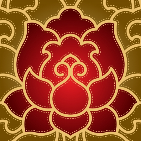 lotus flower: Po-phase flowers background