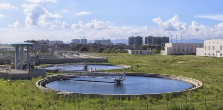 Sewage Treatment Plant Stock Photo - 14651254