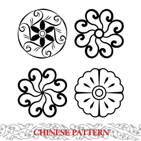 uncolored: Patr�n chino