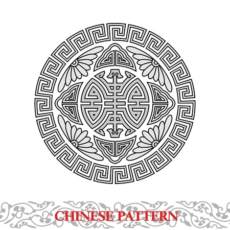Chinese Lucky Pattern Vector