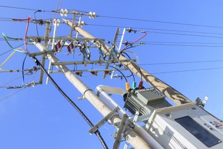 high voltage: transformer substation