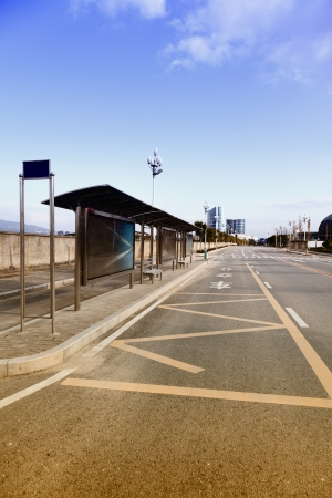 Bus Stop Station Stock Photo - 17362068