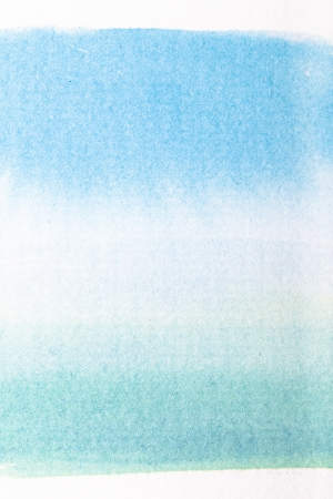 Abstract blue watercolor painted background. Stock Photo - 20169174