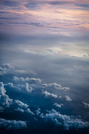 beautiful heaven: Dramatic storm clouds by overlooking