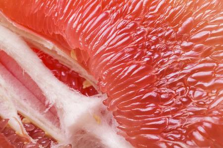 fruitage: Pomelo closeup tropical fruit background Stock Photo