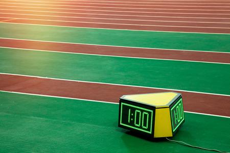 chronometer: runner stopwatch chronometer