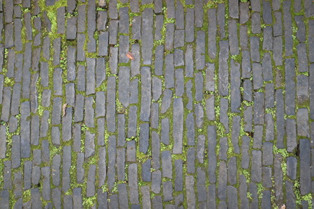 piso piedra: piedra antigua carretera de adoquines
