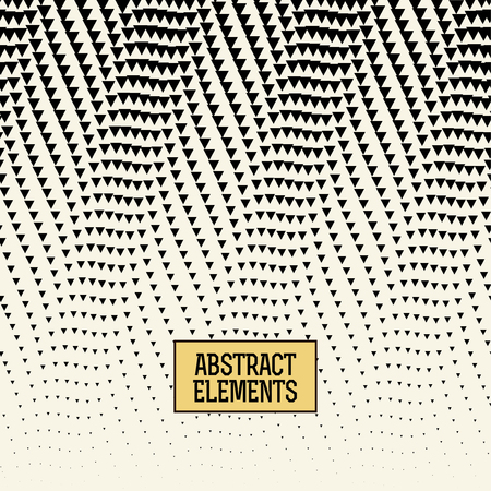 pattern: abstracet geometric halftone triangle trippy seamless pattern background