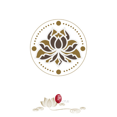 flowers design Template icon.