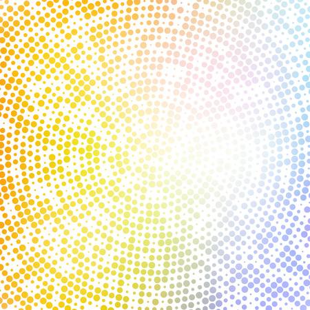 pattern: illustration colorful halftones background.