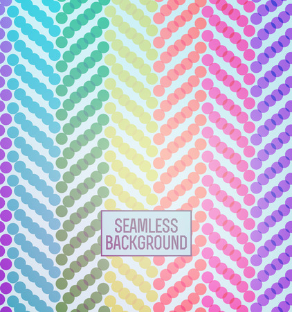 illustration doted halftones seamless pattern background