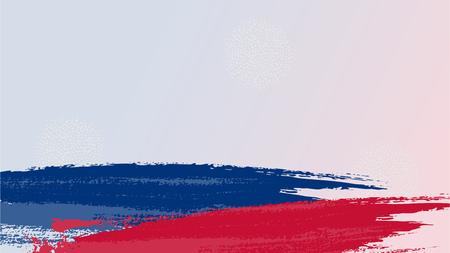 Grunge brush stroke background 일러스트