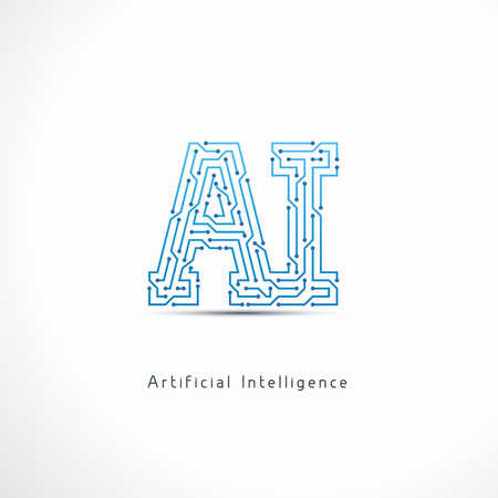 AI Artificial Intelligence letter .