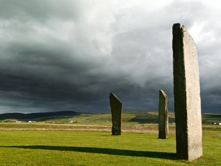 Standing stones Stock Photo - 17855028