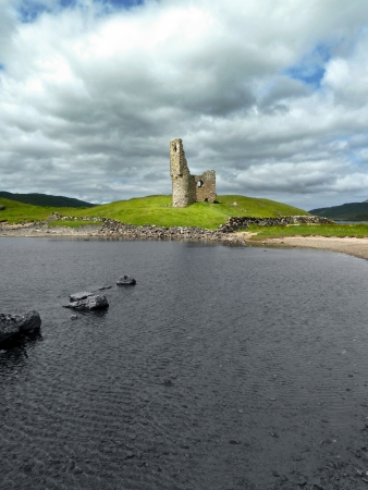 Scottish castle ruin Stock Photo - 18018332
