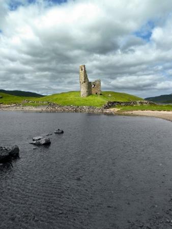 Scottish castle ruin Editorial