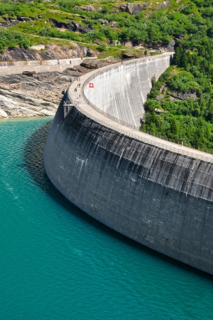Zervreila Reservoir, Grisons Switzerland