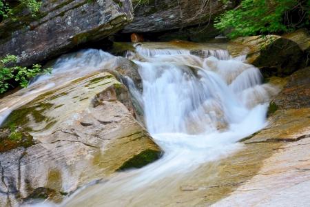 Idyllic mountain stream