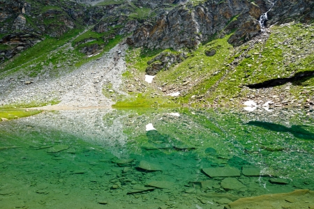 トーマ湖、スイスのラインのソー...