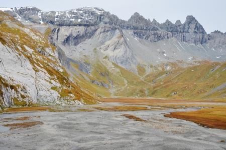 Lower Segnesboden in Flims, Switzerland