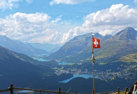 Engadine in Switzerland