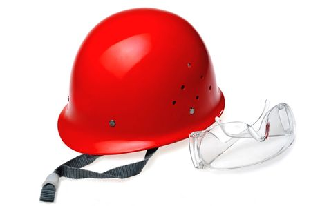 Using to the protection body doesn't need to be subjected to injury of safety protection thing Stock Photo - 6237835