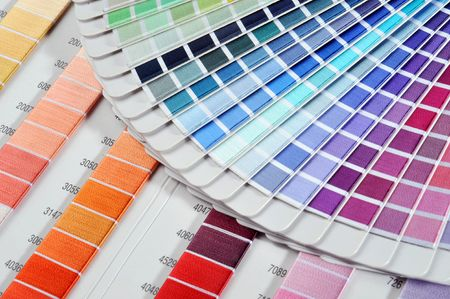 The color beautiful card constitute