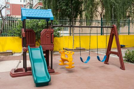 colourful children playground