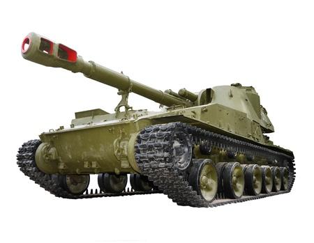 artillery: Soviet self-propelled howitzer artillery unit