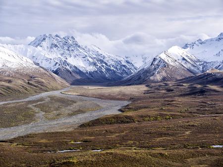denali: Alaksa Denali National Park Stock Photo