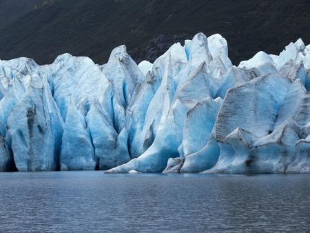 Alaska Glacier Close up