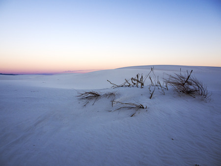 Solitude Sunset at White Sands National Monument