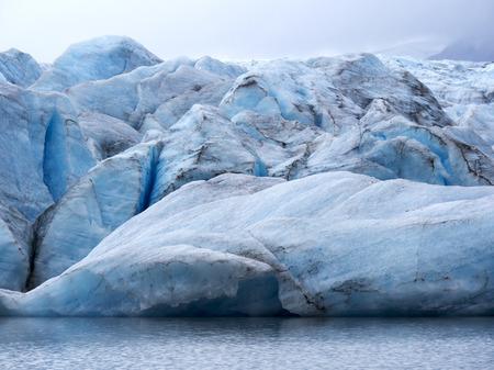 spencer: Spencer Glacier in Alaska Stock Photo