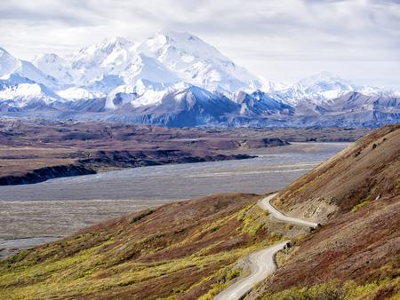 denali: Mt. McKinley from Denali National Park