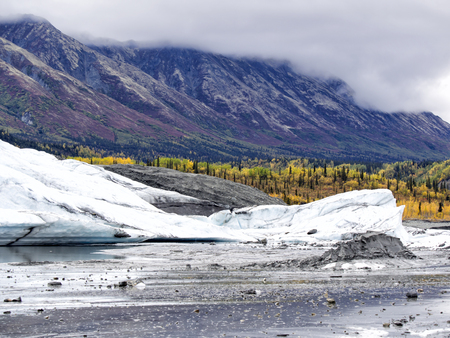 unnamed: Alaska Glacier Melting - Unnamed Interior Glacier