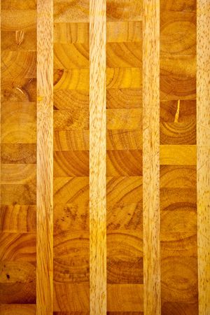 paneling: Butcher block background.