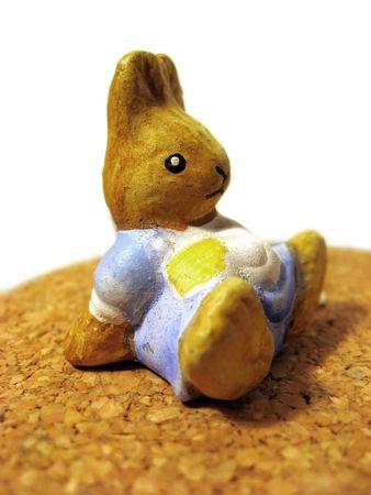 bunnie: bunnie toy Stock Photo