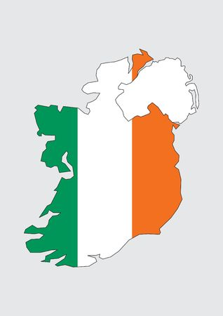 Map of Ireland photo