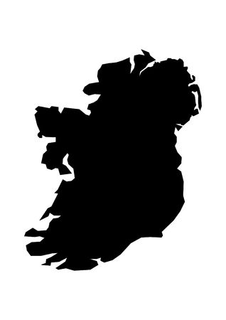 shetland: Map of Ireland