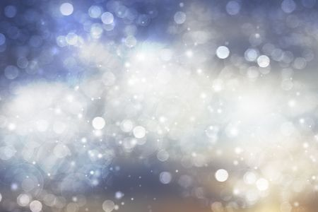 Abstract background of holiday lights   Stock Photo - 6529824