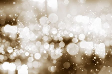 Abstract background of holiday lights Stock Photo - 6529825