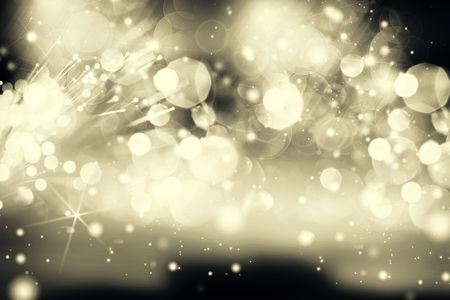 Abstract background of holiday lights Stock Photo - 6529854