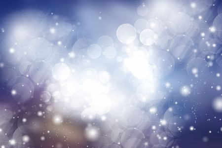Abstract background of holiday lights Stock Photo - 6529831