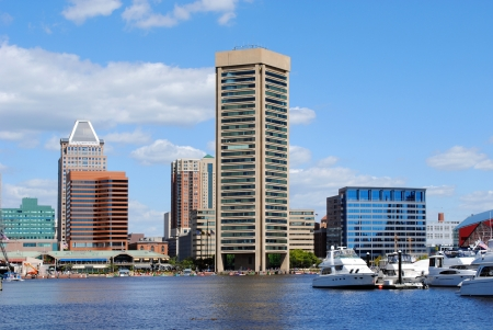 maryland: Baltimore Inner Harbor