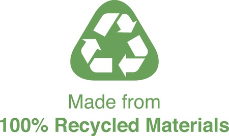 A logo for Recycled Materials Stock Photo - 14849157